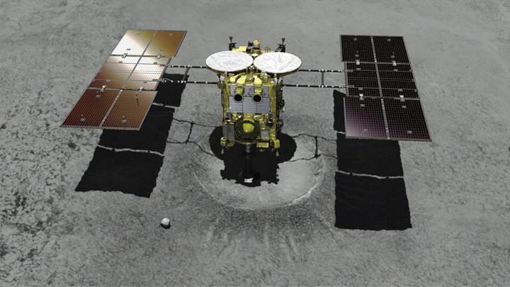 Hayabusa2'nin Ryugu asteroidine iniş videosu yayınlandı