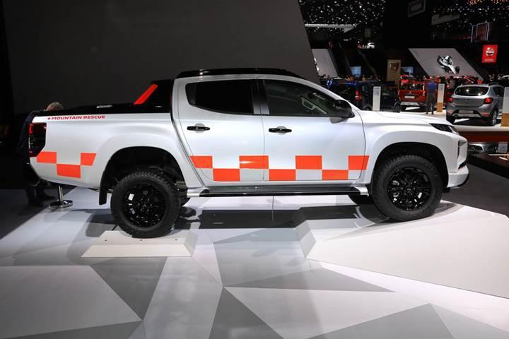 2019 Mitsubishi L200'ün Avrupa versiyonu Cenevre'de tanıtıldı