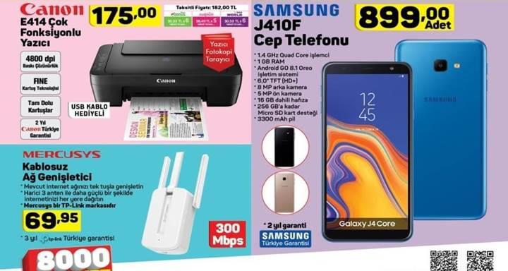 Haftaya BİM marketlerde çok uygun fiyata Galaxy J7 Prime 2 modeli var