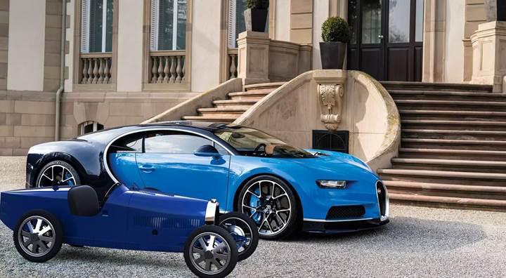 Bugatti'den zengin çocuklarına 30 bin euroluk oyuncak: Bugatti Baby II