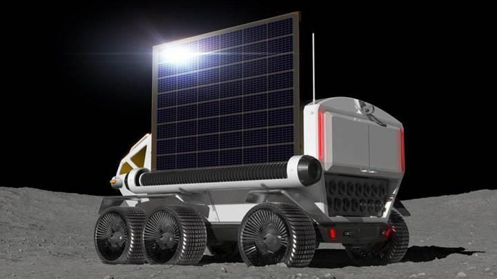 İşte Toyota'nın Ay'a göndereceği dev keşif arabası