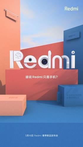 Redmi, 18 Mart etkinliğinde akıllı telefon dışında farklı bir ürün tanıtabilir