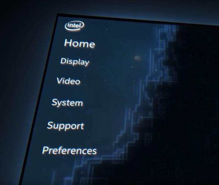 Intel grafik yazılımı daha iyi bir ara yüze kavuşuyor
