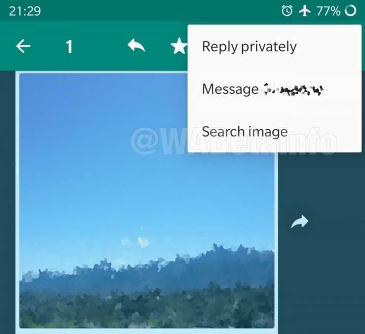 WhatsApp resim arama aracı ile sahte haberlerin önüne geçecek
