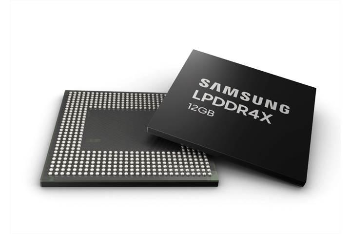 Samsung'dan 12 GB LPDDR4X DRAM