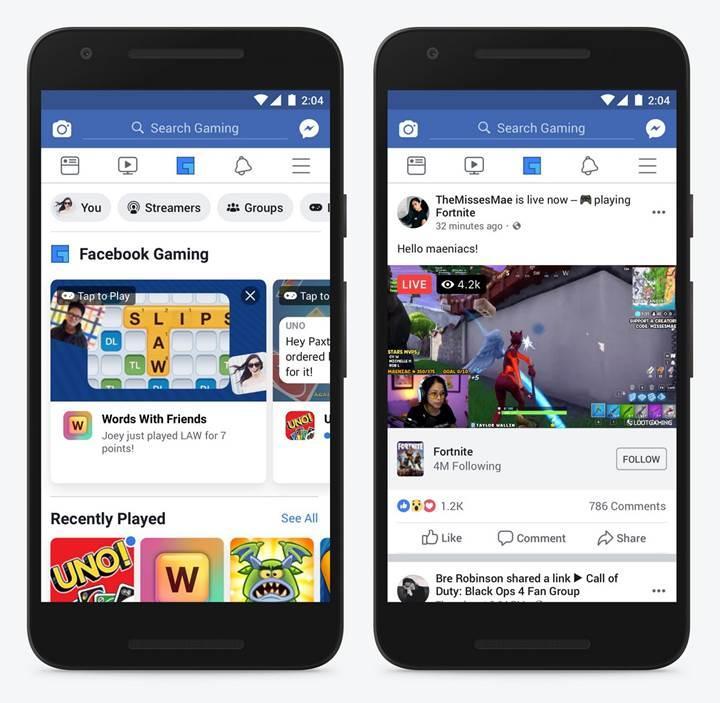 Facebook, ana gezinti menüsüne oyunları da ekleyecek