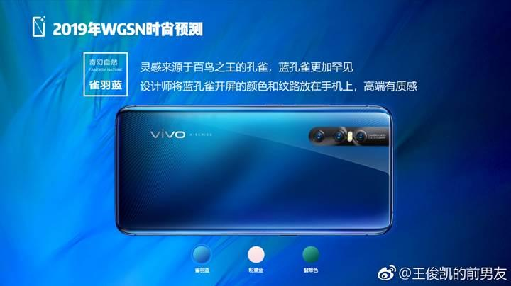 Tasarımı ile büyüleyen Vivo X27'nin yeni basın görselleri yayınlandı