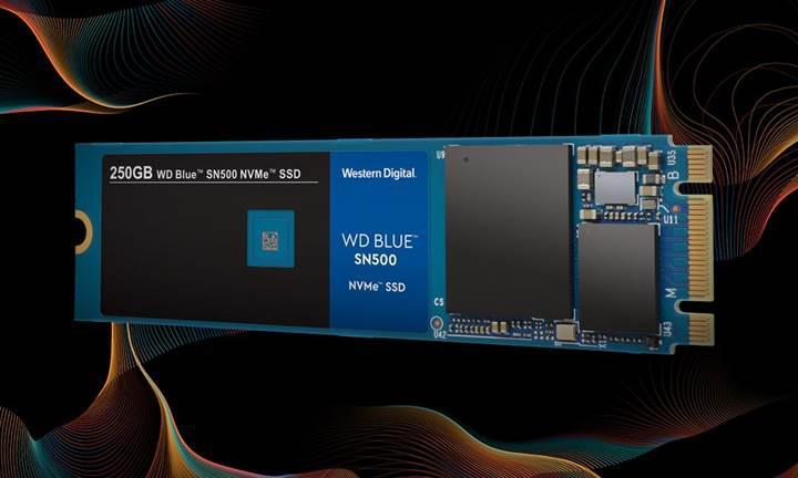 WD Blue NVMe sürücülerini duyurdu
