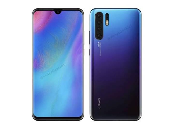 Huawei P30 Pro ekranı Samsung'dan
