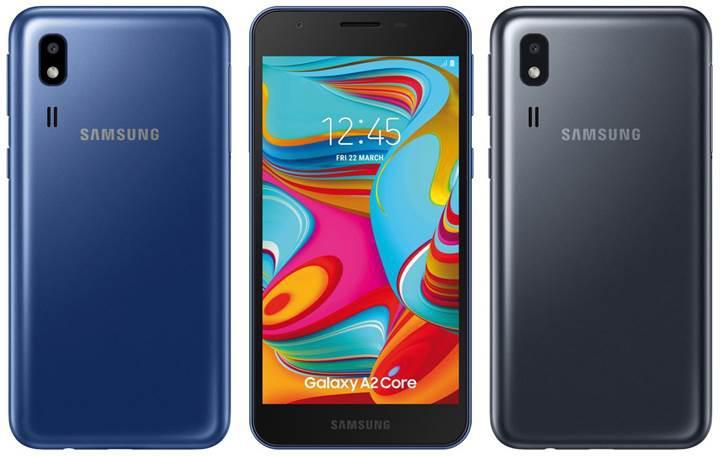 Samsung'un yeni Android Go telefonu hazır
