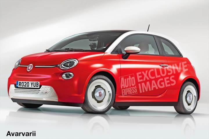 Yeni Fiat 500 yalnızca elektrikli olarak üretilecek