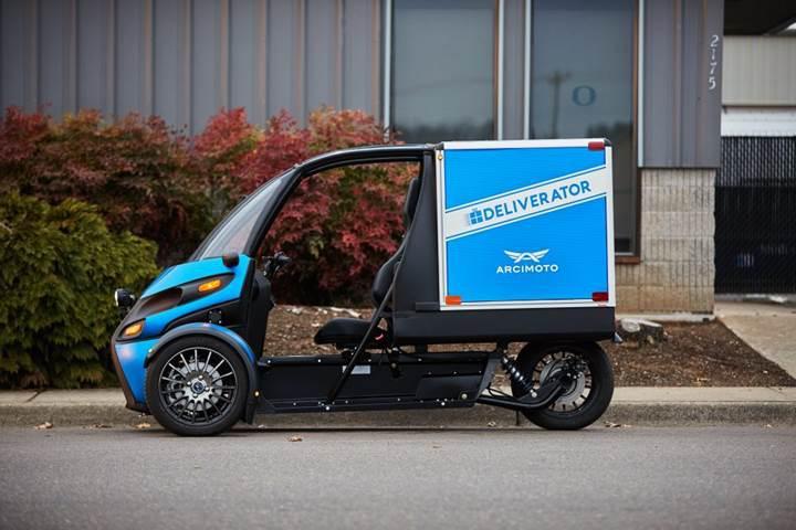 İlk yardım ve teslimat servislerine üç tekerlekli elektrikli araç: Arcimoto