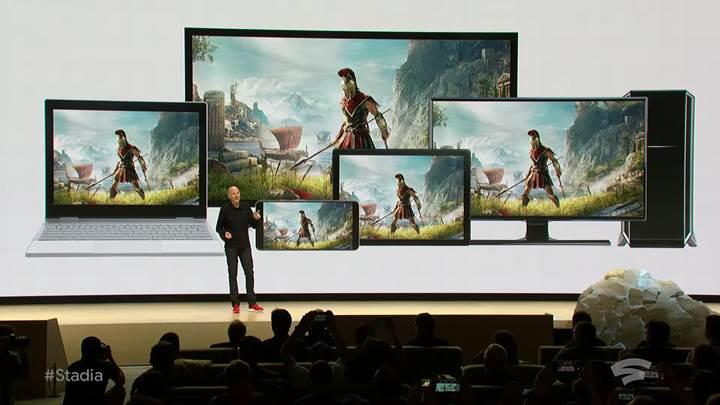 5 maddede Google'ın yeni oyun servisi Stadia