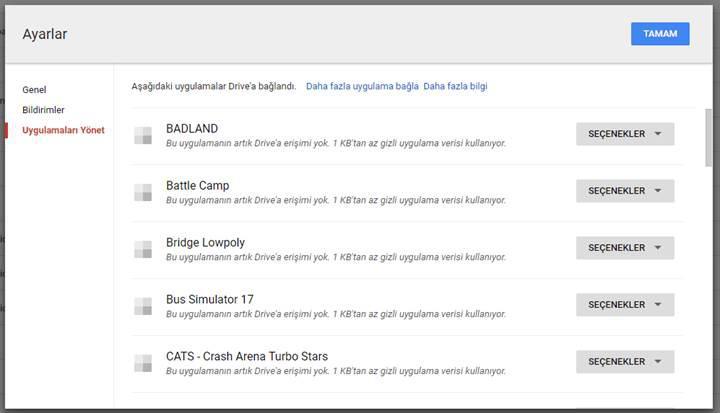 Google depolama alanında nasıl yer açabilirim?
