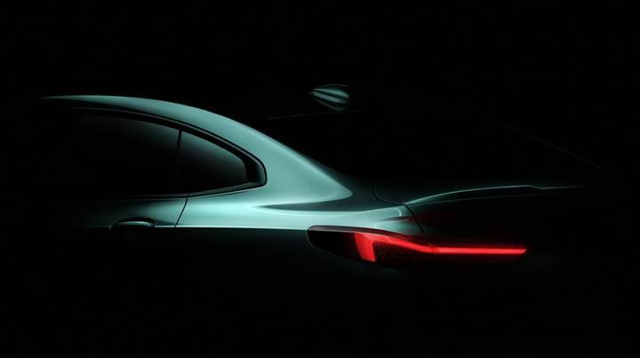 BMW 2 Serisi Gran Coupe'nin ilk görseli paylaşıldı
