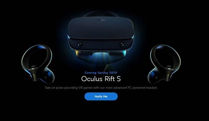 Oculus Rift S sanal gerçeklik kaskı duyuruldu
