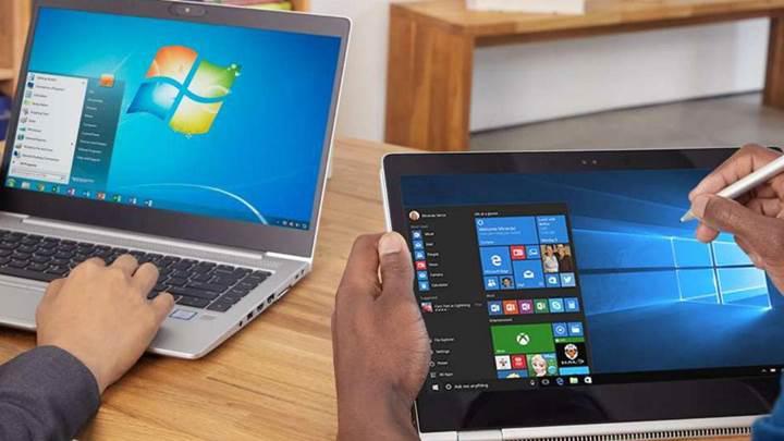 Windows 7 için teknik desteğin kesilmesine geri sayım rahatsız edici uyarılarla başladı