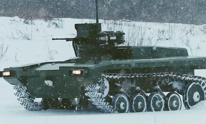 """Rus ordusu, silahlı robotlardan oluşan bir """"kara birliği"""" oluşturmayı planlıyor"""