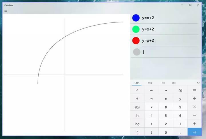 Windows 10 hesap makinesine, denklem çizebilme özelliği ekleniyor