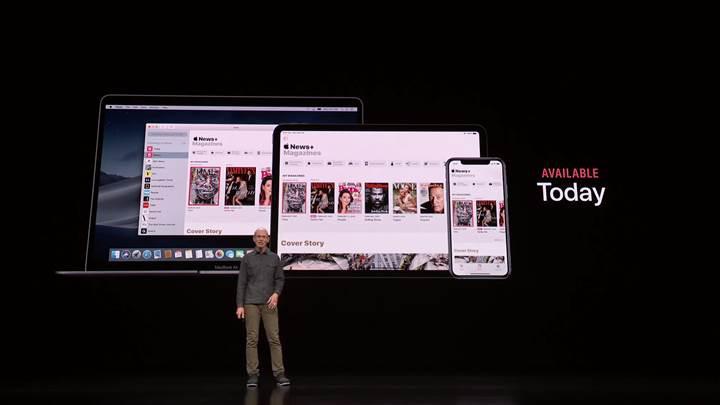Apple'ın dergi abonelik servisi News+ tanıtıldı