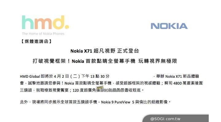 Delikli ekran ve 48 MP kameralı Nokia X71'in tanıtım tarihi belli oldu