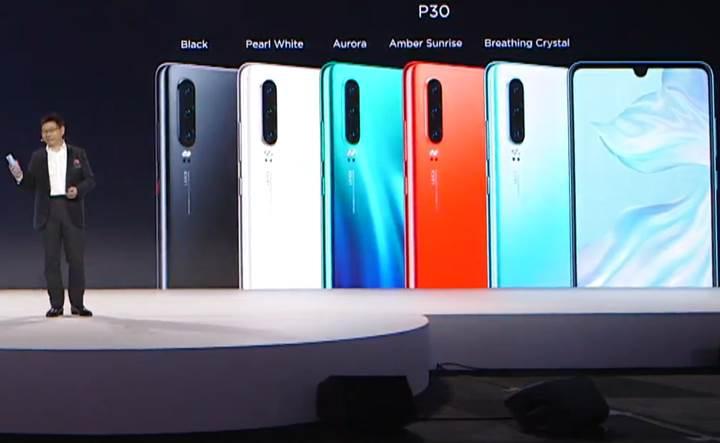 Huawei P30'a merhaba deyin! İşte P30 özellikleri