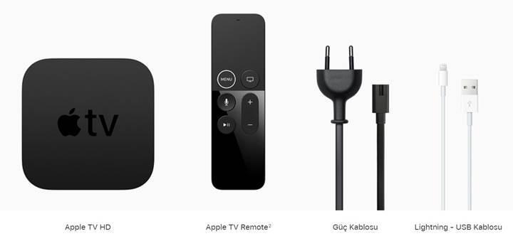 Dördüncü nesil Apple TV artık Apple TV HD oldu