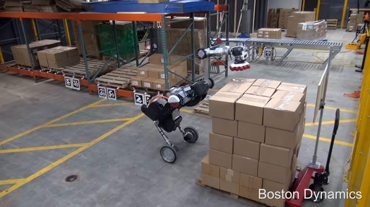Boston Dynamics, 'Handle' robotunun yeni videosunu paylaştı