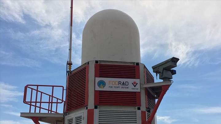 Yerli FOD Radarı, Antalya Havalimanı'na kuruldu, kullanılmaya başladı