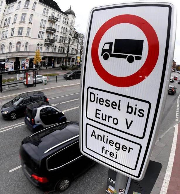 Almanya'nın Stuttgart kentindeki dizel yasağı 1 Nisan'da başlıyor