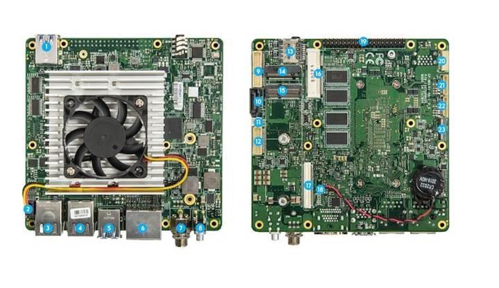 Intel tabanlı AAEON UP Xtreme geliştiriciler için tasarlandı