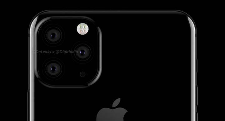 Üç arka kamera ile gelmesi beklenen iPhone 11'in yeni çizimleri ortaya çıktı