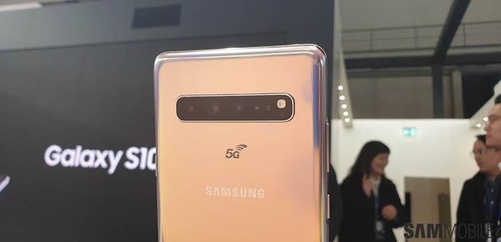 Samsung Galaxy S10 5G'nin fiyatı belli oldu