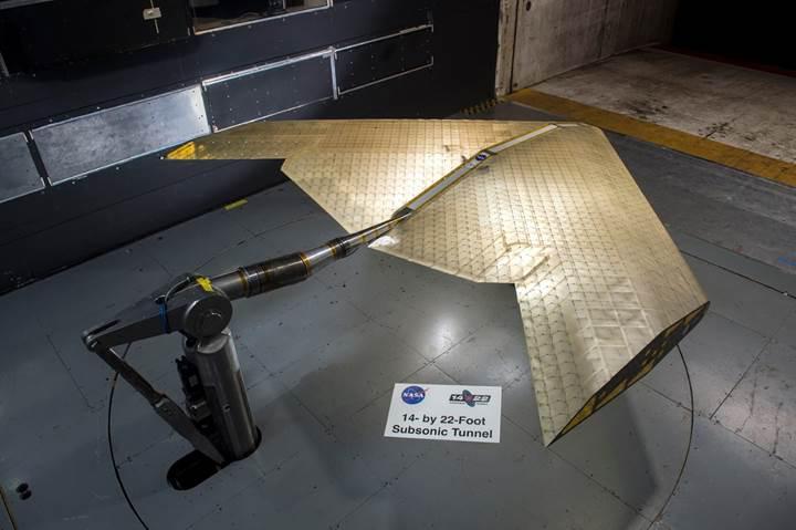 NASA ve MIT uçuş sırasında şeklini değiştirebilen uçak kanadı geliştiriyor