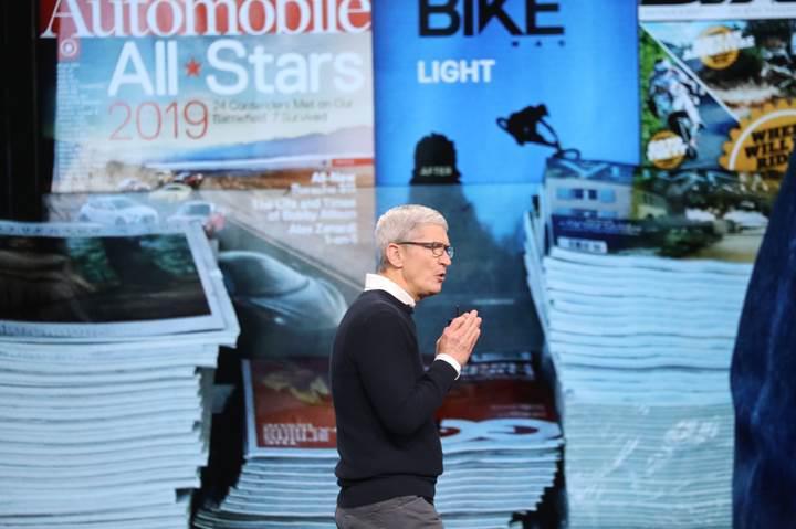 Apple News Plus servisine ilk 48 saatte 200 bin kişi abone oldu