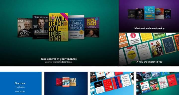 Microsoft e-kitap mağazasını kapattı