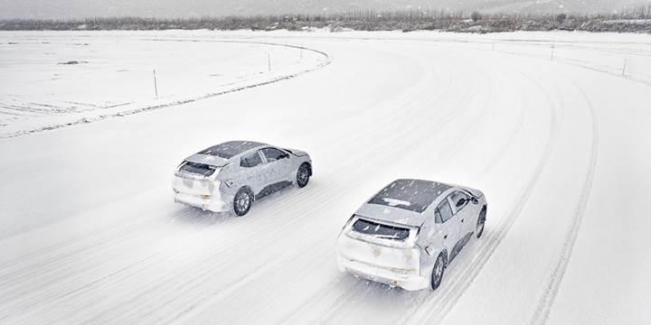 Elektrikli Byton M-Byte SUV, Moğolistan'daki kış testlerinden başarıyla geçti