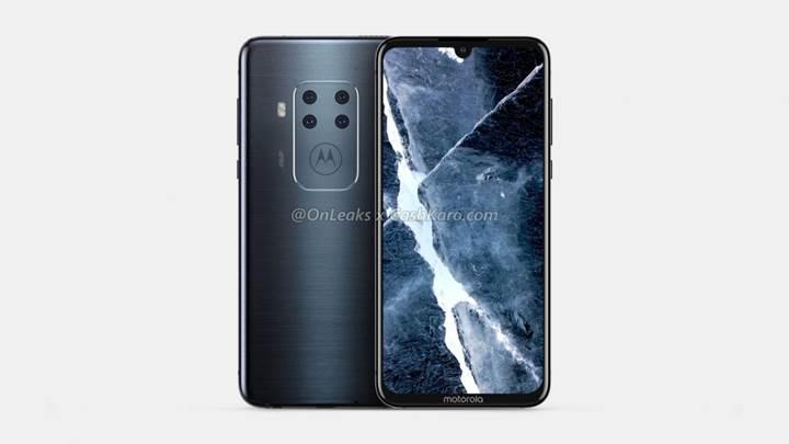 Motorola'nın dört arka kameralı telefonun görüntüleri ortaya çıktı