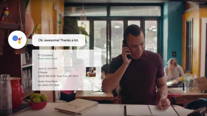 Google Duplex, iOS ve Android telefonların kullanımına açılıyor