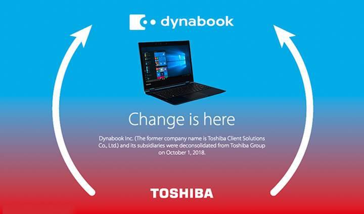 Toshiba bilgisayar modelleri Dynabook olarak isim değiştirdi