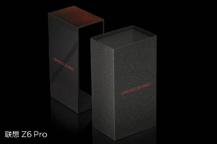 Lenovo Z6 Pro'nun kutu görselleri yayınlandı