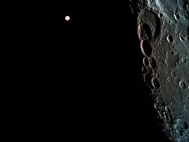 İsrailli şirket tarih yazmaya çok yakın: Beresheet, Ay yörüngesine yerleşti