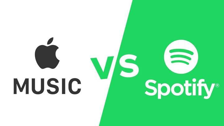Apple Music ABD'de Spotify'ı geride bıraktı
