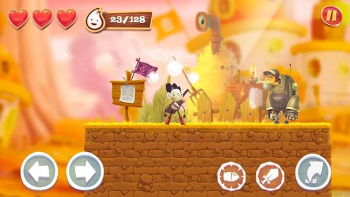 Beğenilen Spirit Roots platform oyunu Android'e geldi