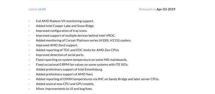 AMD Navi HWINFO'da göründü