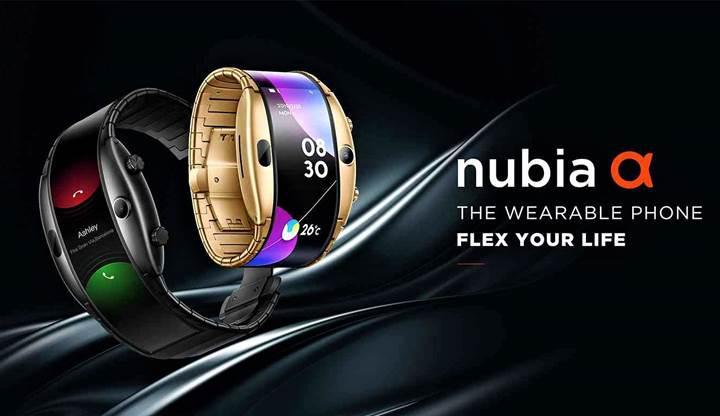 Giyilebilir telefon Nubia Alpha sonunda satışa sunuluyor