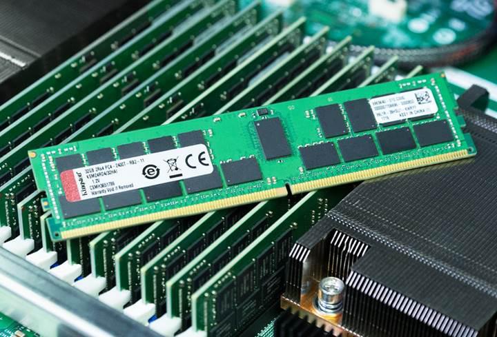 Kingston'dan yeni Xeon işlemciler için bellek modülleri