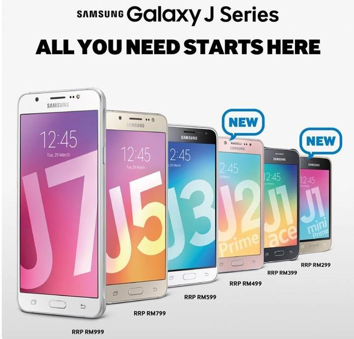 Galaxy J serisi sona erdi