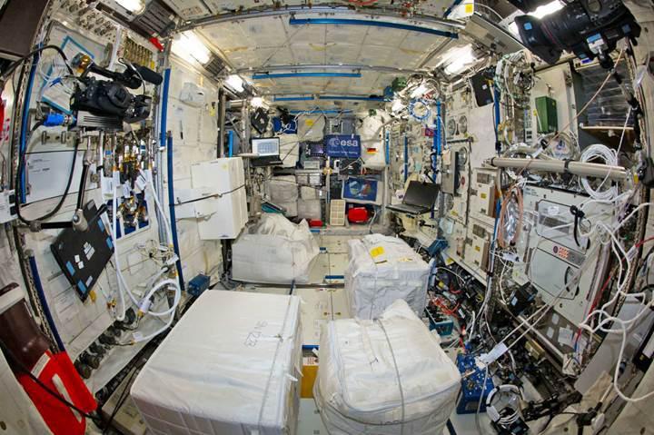 NASA'ya göre Uluslararası Uzay İstasyonu, bakteri kaynıyor