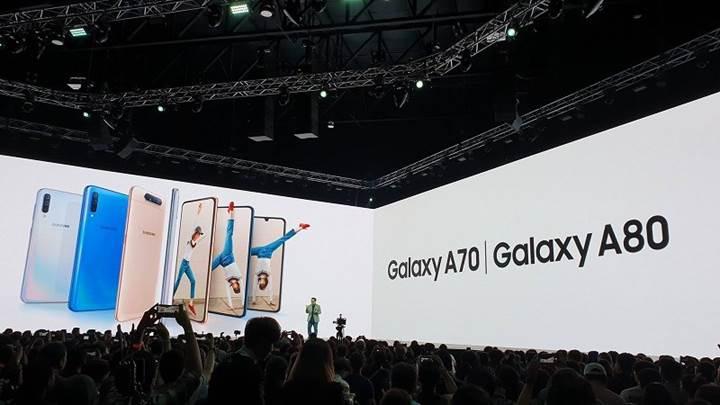Samsung Galaxy A70'in çıkış tarihi ve fiyatı belli oldu